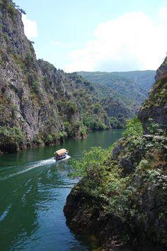 Canyon Matka, Macédoine. #Macedonia