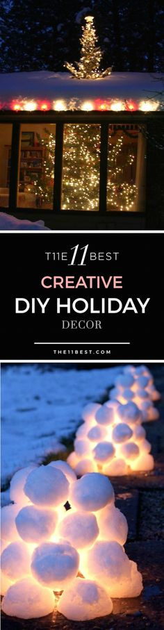 THE BEST DIY HOLIDAY DECOR