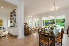 Property for sale in Mt Eden, Auckland City, presented by Mike Robson and Jacqui Hale, powered by ® Home Living Room, Living Area, Living Spaces, Diy Interior, Interior Design, The Beautiful Country, Property For Sale, Bungalow, Family Room