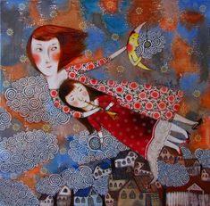 Anna Silivonchik. Bielorrusia, Tribute to  Marc Chagall
