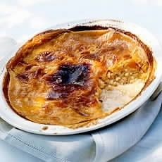 Delia Smith's Old-fashioned Rice Pudding. Nothing makes me feel better when I'm sick like this recipe. Reminds me of those cold winter days back in England. So good. So original. So British.