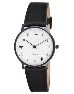 This is beautiful: M&Co. Onomatopoeia Unisex Watch http://canopy.co/p/14709