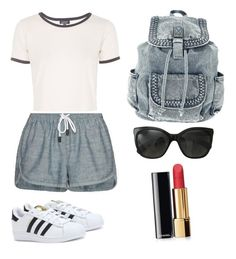 Untitled #99 by yasmeenf on Polyvore featuring polyvore, fashion, style, Topshop, rag & bone/JEAN, adidas and Chanel