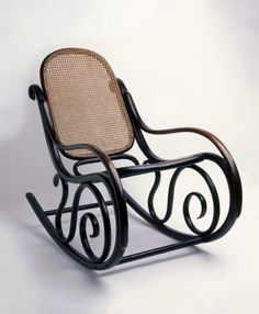 Ooh, wouldn't it be nice to have one of these on your porch? Michael Thonet's Model No.10 rocking chair, 1866, Austria