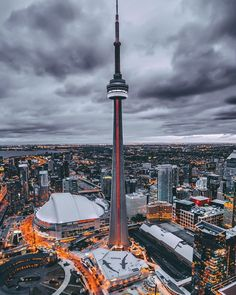 "tourtheplanet: ""Follow our friend @yescene for more amazing pictures! Toronto Ontario Canada 