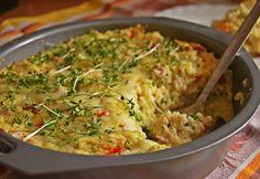 Zapiekanka jaglana z kurczakiem - Naszakasza.dietmap.pl Gluten Free Recipes, Healthy Recipes, Easy Chicken Recipes, Guacamole, Risotto, Macaroni And Cheese, Easy Meals, Food And Drink, Baking