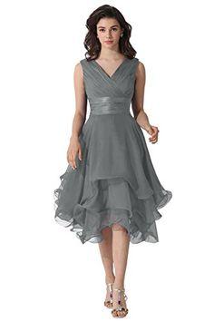 Dora Bridal V-Neck Chiffon Mother Of The Bride Dresses Size 2 US Steel Grey Dora Bridal http://www.amazon.com/dp/B014MHCUAO/ref=cm_sw_r_pi_dp_lpfrwb1RHRZR7
