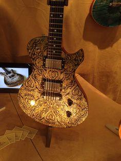 Hartung guitar at Frankfurt 2014