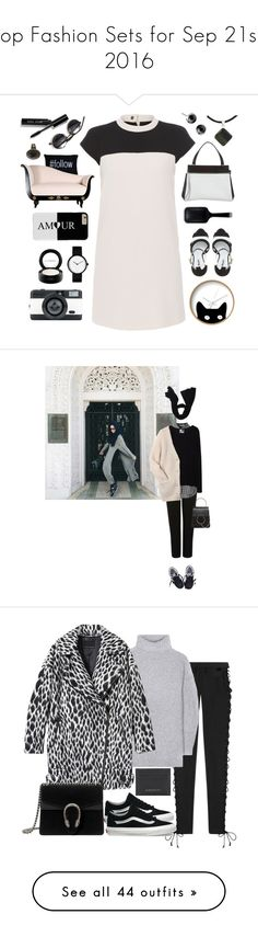 """Top Fashion Sets for Sep 21st, 2016"" by polyvore ❤ liked on Polyvore featuring Dot & Bo, Paule Ka, Dune, MAC Cosmetics, CÉLINE, GHD, Park B. Smith, Bobbi Brown Cosmetics, LØMO and NOVICA"