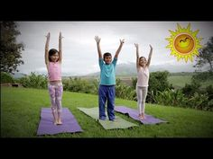A fun yoga routine in Spanish, includes counting and many other words! Yoga For Kids, Exercise For Kids, Chico Yoga, Zumba Kids, Pilates, Elementary Spanish, Baby Yoga, Yoga Music, Yoga Routine