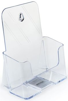 Brochure Pockets for x Inches Literature Injection Molded Plastic Leaflet Holders with Slant Back - Set of 40 Church Welcome Center, Hair And Nail Salon, Brochure Holders, Plastic Design, Sign Display, Plastic Injection Molding, Acrylic Plastic, Store Signs, Wall Mount