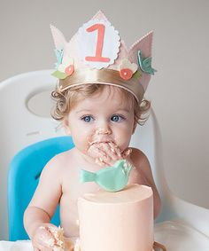 Another great find on #zulily! Blush Shabby Chic Personalized Crown #zulilyfinds