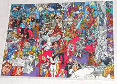 Poster Wizard 35x26cm Cantina Star Trek Space Ghost Darth Va - R$ 15,00 no MercadoLivre