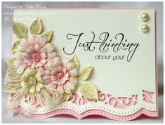 Thinking About You - Heartfelt Creations by rosekathleenr - Cards and Paper Crafts at Splitcoaststampers