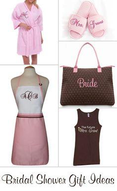 Bridal shower gift ideas.