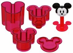 Mickey Mouse Sushi Rice Press- to create the world's greatest #Disney #Bento!