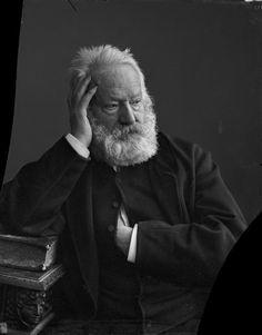 Victor Hugo  Fotografía de Nadar