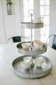 Metal Tiered Stand