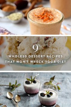 9 Whole30 Dessert Recipes That Won't Wreck Your Diet via @PureWow