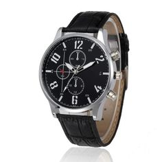 Watches Geneva Mens Quartz Watch Fashion Alloy Case Date Watches Synthetic Leather Male Analog Sport Gift Wristwatch Reloj Mujer A2 To Enjoy High Reputation In The International Market Quartz Watches