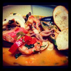 Mariscada!!! Pulpo, camarones, mejillones, calamares y mas