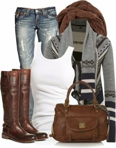 Get Inspired by Fashion: Chic Outfits | Cozy Aztec