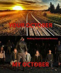 The Walking Dead returns in October