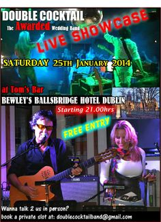 GETTTING MARRIED in South Spain and looking for wedding music ? check DCs live showcase in Dublin