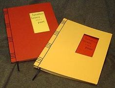 Japanese Hand Bound Books.