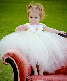 This Ivory Ella Princess Dress - Infant, Toddler & Girls by  is perfect! #zulilyfinds