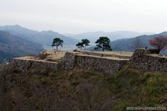 """Takeda Castle aka """"Castle in the Sky / Machu Picchu of Japan"""" can be found in Asago City, Hyogo Prefecture."""
