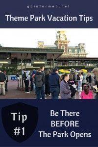 Theme Park Tip #1: B
