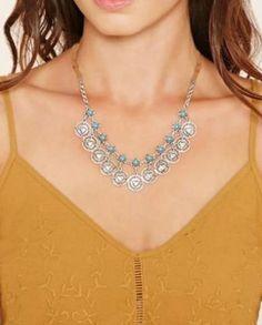 Opaline Necklace - Vintage Finish