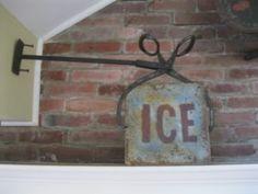 folk art, one of a kind, antique trade sign