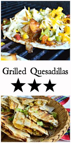 How to set up and make a grilled quesadilla bar!The best kind of party! #quesadillas #mexicanfood www.thisishowicook.com