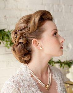 Coiffure vintage pour un mariage - Coiffure vintage : nos plus belles inspirations pour un look glamour - Elle