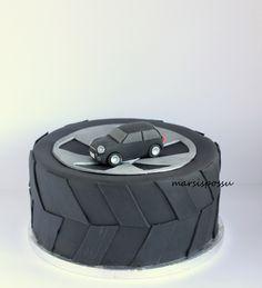 Marsispossu: Autokakku, Car cake Cupcake, Birthday Parties, Sun, Party, Birthday Celebrations, Fiesta Party, Cupcakes, Receptions, Muffin