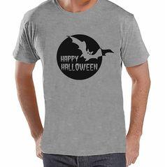 7 ate 9 Apparel Men's Happy Halloween T-shirt