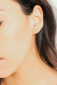 Gold plated brass Mini bars CZ stones #SmallBumpsOnFace Causes Of Cellulite, Reduce Cellulite, Small Bumps On Face, Lump Behind Ear, Back Pimples, Swollen Lymph Nodes, Skin Bumps, Laser Surgery, Under My Skin