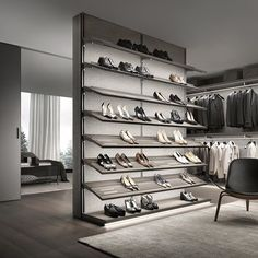 Shoe heaven! @rimadesioofficial #Rimadesio #shelf #door #slidingdoor #table #wardrobes #bedroom #architect #architecture #archiproducts #interiors #inspiration #interiordesign #interiorluxury #livingroom #love #amazing #cabinets #pureconcept #pureconceptAU #pureinteriors #pureinteriorsAU #giuseppebavuso #italiandesign #madeinitaly #exclusivetoPureInteriorsAU
