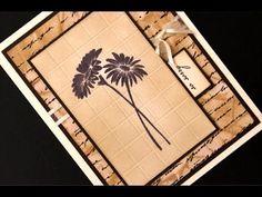 """""""Ceramic Tile"""" Focal Image tutorial by stamptv, Gina K. Designs."""