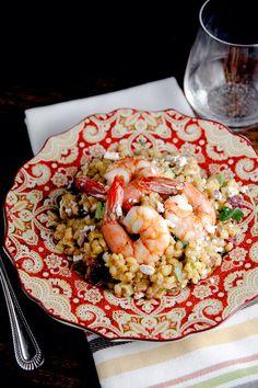 Warm Barley Salad with Blood Orange Vinaigrette