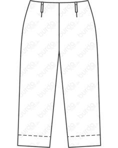 Magazin Schnitt Culotte 03/2020 #125 Trousers, Plus Size, Fashion, Trousers Fashion, Trouser Pants, Moda, Pants, Fashion Styles, Fashion Illustrations