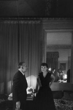 Audrey Hepburn, Paris, France 1955