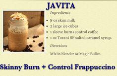 Frappuccino Javita Style http://www.myjavita.com/SarahSelect