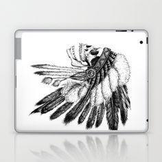 Native American Laptop & iPad Skin by Motohiro NEZU - $25.00