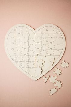 guests' loving sentiments | Jigsaw Guestbook from BHLDN