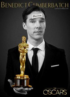 Benedict Cumberbatch, Oscar Nominee :)