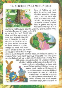 52 de povesti pentru copii.pdf Early Education, Preschool Activities, Kids And Parenting, Ursula, Alphabet, Kindergarten, Alice, Fictional Characters, Writers