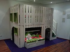 Cabane en palette pour enfant,....La Biblicabane... - Le blog de Mazelin Antony